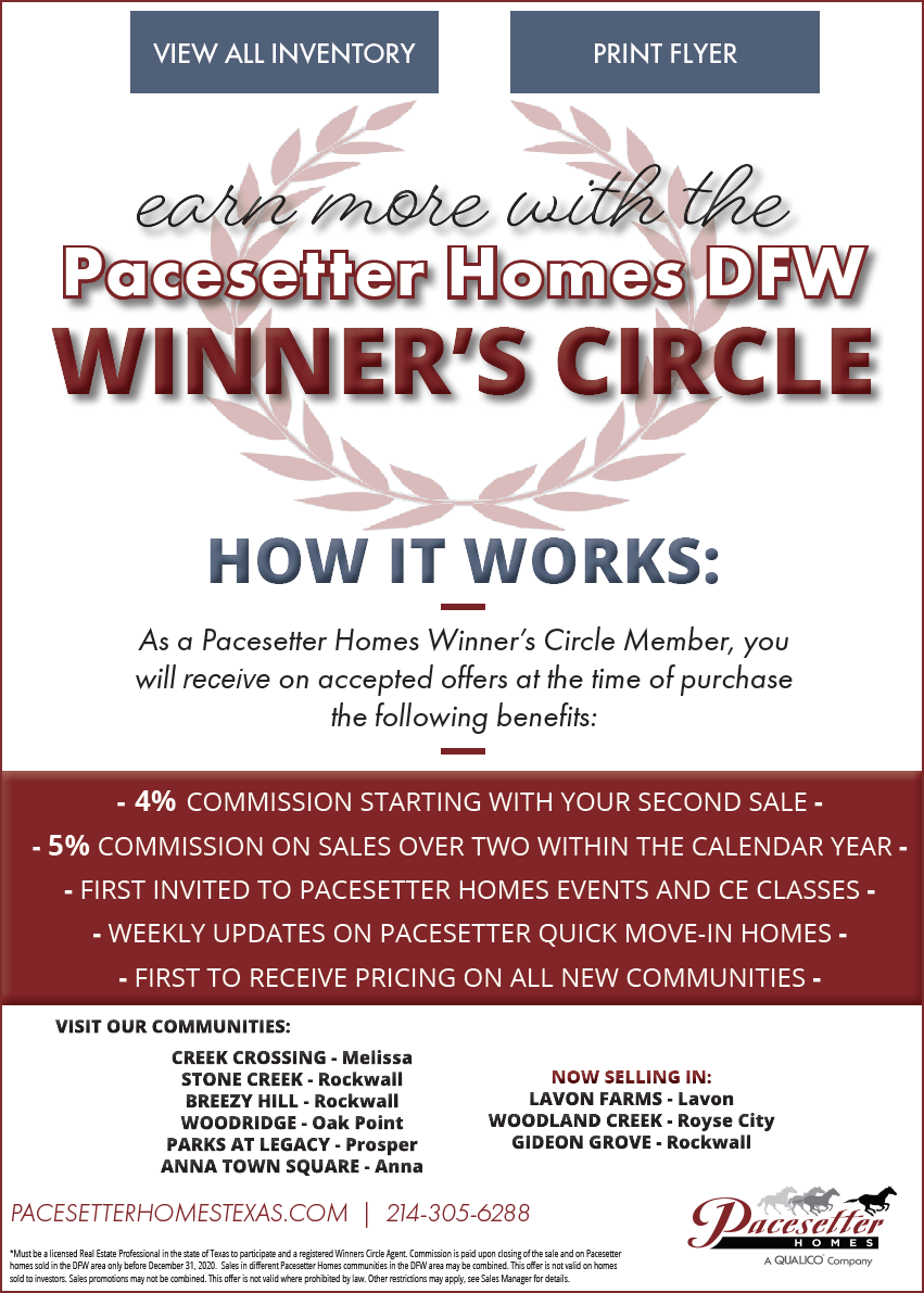 Pacesetter Homes DFW