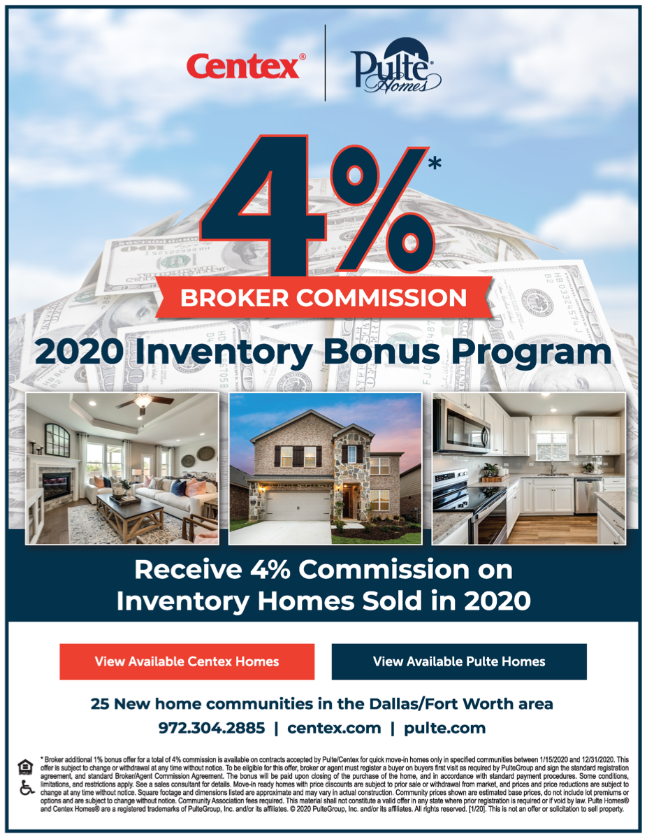 Pulte Homes and Centex